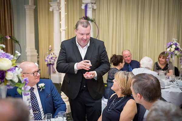 Rob Hutchinson Wedding-Magician North Yorkshire