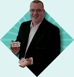 Rob Hutchinson Corporate-Events Magician Harrogate North Yorkshire