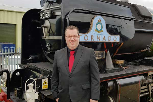 Rob Hutchinson Magician Steam Train
