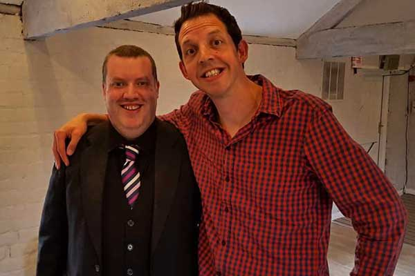 Rob Hutchinson with Jonny Awsum - Britains Got Talent